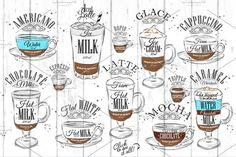 Set Coffee - Illustrations - 2