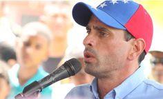 Capriles: Maduro se declaró en desobediencia, no respeta la Constitución