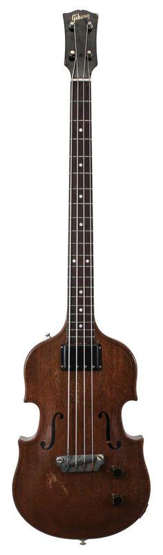 Gibson 1956 EB1 Bass, I had one! My very first bass. #bass #bassgiitar via @samsteiner