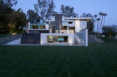 modern hillside home | green building | summit drive | | whipple russell architects