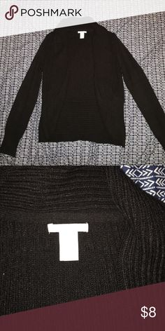 Black sweater Black H&M sweater size small H&M Sweaters Cardigans