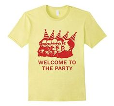 b1408f40 Amazon.com: Welcome to the Party Socialist Communist Anarchist T-Shirt:  Clothing