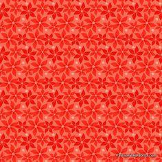 Fabric... Alpine Wonderland Poinsettia in Red by Riley Blake Designs