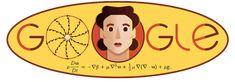 Olga Ladyzhenskaya's 97th Birthday. Google Doodles, Google Doodle Today, Google Birthday, Partial Differential Equation, Enemy Of The State, Fluid Dynamics, Images Google, Google Art, Academy Of Sciences
