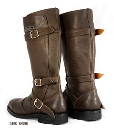 Gasolina Autobahn Boots brown