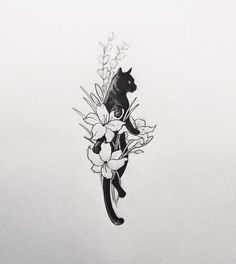 I could get something like this real small on the back of my neck for nanny..: