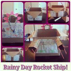 Rainy Day Rocket Ship