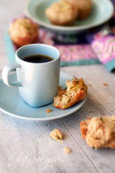 Maple Sweetened Almond Zucchini Mini-Muffins