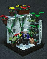 #LEGO Clue #Game. Professor Plum, In the Conservatory, With the Wrench. how cool would a lego clue game be!