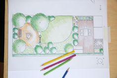 Der Weg zum Traumgarten fängt mit der Gartenplanung auf dem Papier an
