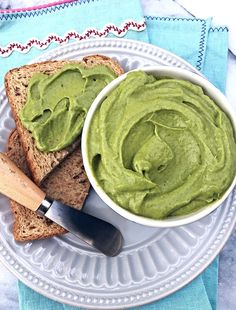 A genius recipe for a healthy, buttery spread - to use up your summer zucchini! Low-carb. Vegan. Whole30. Low Fat. Again, GENIUS.