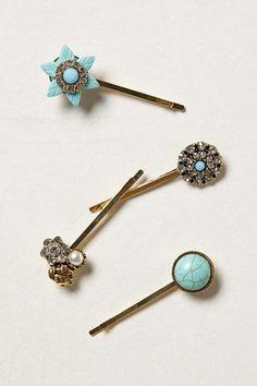 Boutonniere Hair Pins