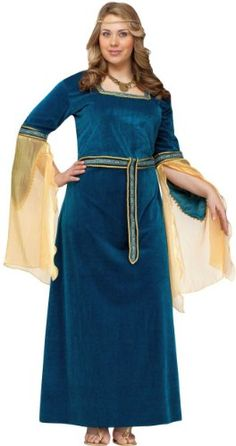 RENAISSANCE PRINCESS ADULT PLUS SIZE COSTUME  - Click image twice for more info - See a larger selection of Women Medieval Renaissance Costumes at http://costumeriver.com/product-category/womens-medieval-renaissance-costumes/  - women, halloween costumes, halloween fashion , classic costume, holidays, event, trick or treat , gift ideas, costumes, disguise.