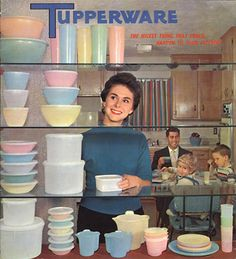 This week's ART IN THE EVERYDAY is dedicated to classic TUPPERWARE. Everything you've ever wanted to know about these colorful plastic storage icons! #tupperware