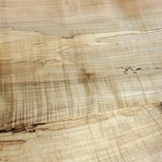 Spalted Curly Maple