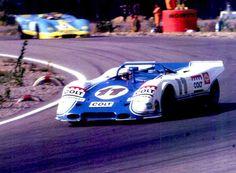 Keimola 22.8. 1971,   Kinnunen ja Porsche 917 Spyder