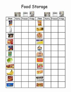 Empowered By THEM: Food Storage / Morning Folders