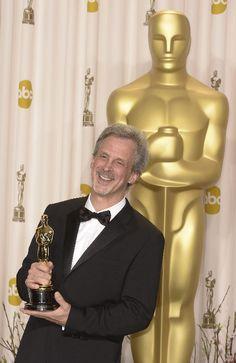 William Goldenberg, premiato per il miglior montaggio (Argo)