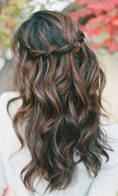 hair colour for highlights long