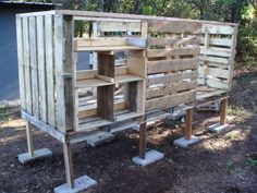 Denny Yam: Pallet chicken coop plans