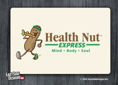 New Concept of Health Food Store  (Health Nut Express) by EastSideDesigns.biz