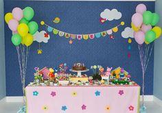 backyardigans: festa infantil decorada com os personagens do desenho