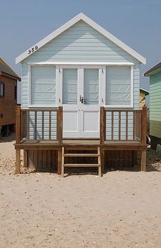 Beach Hut at Mudeford, Dorset Beach Cottage Style, Coastal Cottage, Beach Hut Shed, Jaipur, Beach Hut Interior, Hut House, Beach Cabana, Beach Bungalows, Beach Gardens