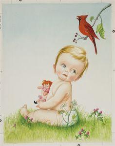 Eloise Wilkins  baby listens 1960