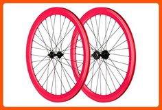 Pure Fix 700C 40mm Wheelset, Pink - Useful things for bikers (*Amazon Partner-Link)