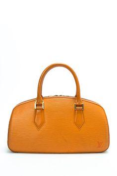 Vintage Louis Vuitton Leather Jasmin Travel Satchel Tote Purse 353efe3d05e27