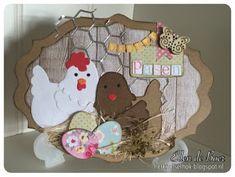 Ellen de Boer: creatief vanuit het knutselhok: Paaskaartje 2016 Diy And Crafts, Paper Crafts, Cat Cards, Marianne Design, Punch Art, Love Cards, Paper Piecing, Happy Easter, Making Ideas