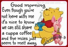 Pooh and Friends Eeyore Quotes, Winnie The Pooh Quotes, Winnie The Pooh Friends, Cute Good Morning Quotes, Good Morning Good Night, Good Night Quotes, Night Qoutes, Cute Quotes, Funny Quotes