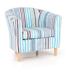St Ives Striped Fabric Reception Tub Chair  sc 1 st  Pinterest & 21 best Tub Chairs and Sofas images on Pinterest | Tub chair ...