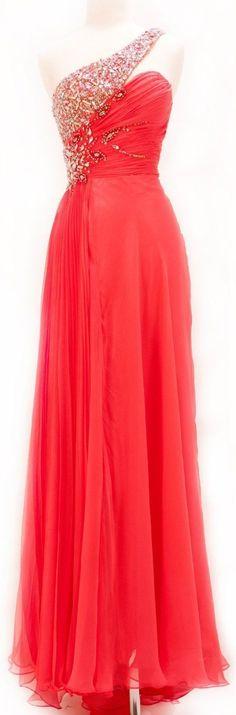 Bg493 Charming Prom Dress,One Shoulder Prom Dress,Chiffon Prom