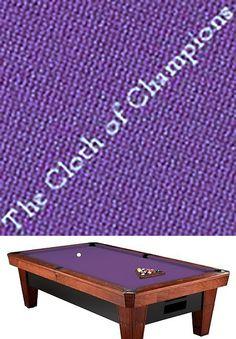 Other Billiards 1292: Simonis 760 Billiard Pool Table Cloth Felt   7 Foot    Purple