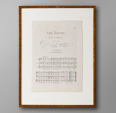 """Frame old sheet music to """"Fur Elise"""" for Elise's big girl room. Framed Sheet Music, Sheet Music Decor, Old Sheet Music, Vintage Sheet Music, Choir Room, Master Suite Addition, For Elise, First Dance Songs, Beautiful Baby Girl"""