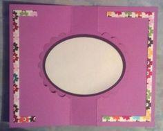 Free Swing Card SVG GSD MTC Cutting File- Scalloped Circle Design