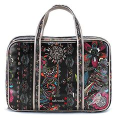 Sakroots Womens Artist Circle Critter Travel Case Neon Spirit Desert none none *** Click on the image for additional details.