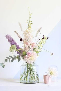 Pastel bouquet by Judith Slagter // judithslagter.nl // flowers and bouquets
