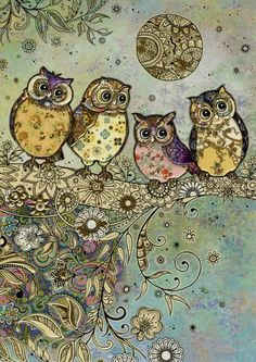 Four Owls ~ Jane Crowther