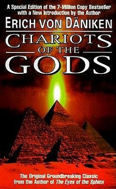 Chariots of the Gods. Awesome book.  I'm obsessed with ancient alien theories!!