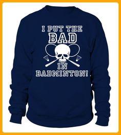 Badmin minton Badminton Racquets Ball Net player team shirt - Badminton shirts (*Partner-Link)