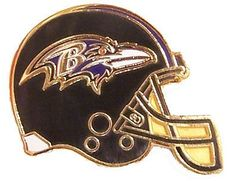 Baltimore Ravens Helmet Pin