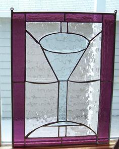A fun martini window.