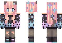 Disco Kitty Minecraft Skin                              …
