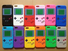 3D game boy design silicone soft case cover skin for apple iphone 5 5G 5S 5C