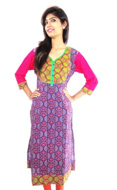 Long length straight cotton kurti (Offer Price: Rs 499 , Offered Discount: 29%) ** BUY NOW ** [MRP: Rs 699]