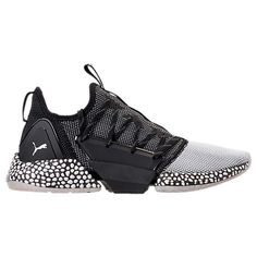 fb615bd20 PUMA MEN'S HYBRID ROCKET RUNNER CASUAL SHOES, BLACK. #puma #shoes #