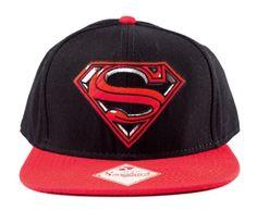 Neue Superman Kappe. Mit neuem Emblem. Gefunden auf www.capuniverse.de