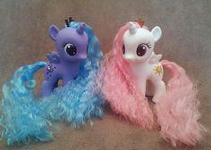 MLP: FiM - Filly Luna and Celestia - custom ponies by hannaliten